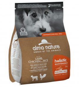 Almo Nature - Holistic Dog Maintenance - Extra Small/Small - Adult - 2kg