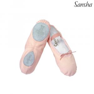 La scarpetta da mezza punta Tutu Split della Sansha tela e con suola divisa