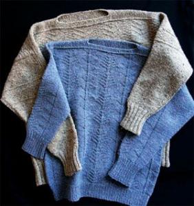 Il Guernsey Pullover di Elizabeth Zimmermann