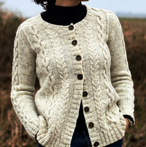 Curdach Cardigan di Carol Feller - Workshop online