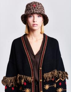 Vicolo - cappello secchiello animalier