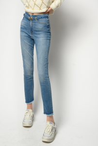 Jeans Susan 12 soft skinny strech con cintura Pinko
