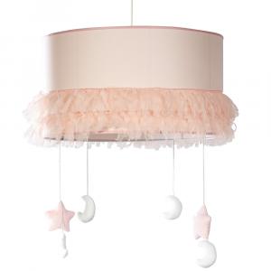 Lampadario a cupola per cameretta linea Lollipop by Picci | Rosa