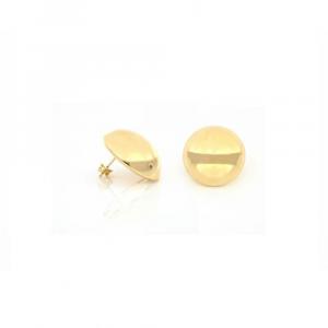 Orecchino in bronzo dorato