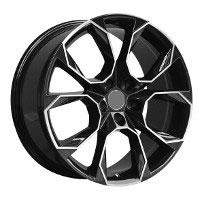 Cerchi in lega  VRS  Dedica  VW & SKODA  19''  Width 8.5   5x112  ET 45  CB 66.6    BLACK / POLISHED
