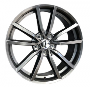 Cerchi in lega  GOLF R 2016  Dedica  VW & SKODA  19''  Width 8   5x112  ET 42  CB 57.1    GLOSS GREY