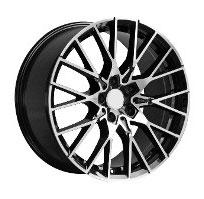 Cerchi in lega  M2 COMPETITION  Dedica  BMW  19''  Width 8   5x120  ET 38  CB 72.6    BLACK / POLISHED