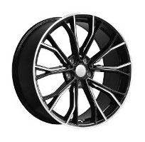 Cerchi in lega  669M  Dedica  BMW  20''  Width 9.5   5x112  ET 35  CB 66.6    BLACK / MILLED EDGE