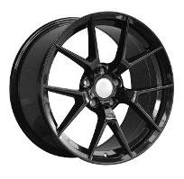 Cerchi in lega  M4 CS  Dedica  BMW  19''  Width 9.5   5x120  ET 45  CB 72.6    GLOSS BLACK