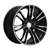 Cerchi in lega  G30 M5  Dedica  BMW  18''  Width 8.5   5x120  ET 35  CB 72.6    BLACK / POLISHED