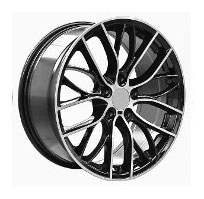 Cerchi in lega  PERFORMANCE  Dedica  BMW  20''  Width 8.5   5x120  ET 40  CB 72.6    BLACK/POLISHED