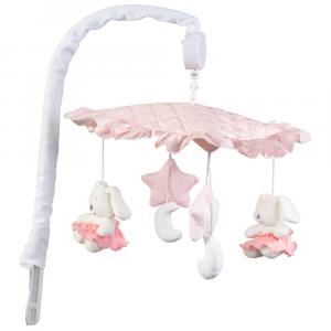 Giostrina musicale linea Lollipop by Picci | Rosa con balze