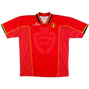 1997-98 Belgio Maglia Home (Top) *Ragazzo