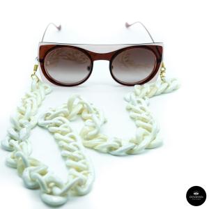 Catenella occhiali Oversize in resina Ottica Occhio!