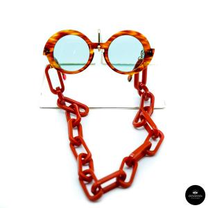 Catenella occhiali Oversize in resina Ottica Occhio!/SOLD OUT