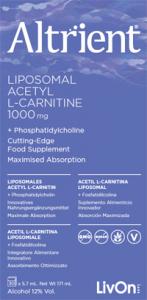 ALTRIENT LIPOSOMAL ACETYL L CARNITINE