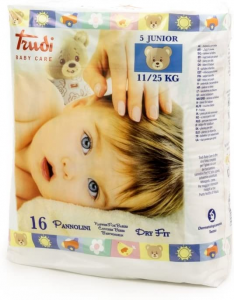 TRUDI BABY CARE PANNOLINI DRY FIT JUNIOR 11 25KG