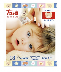 TRUDI BABY CARE PANNOLINI DRY FIT MAXI 7 18KG