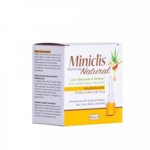 Miniclis natural md adulti