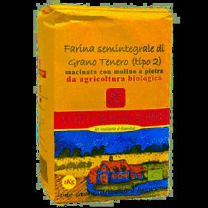 FARINA SEMINTEGRALE GRANO TENERO TIPO 2