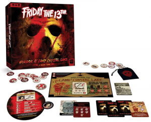Gioco di società: Friday the 13th: Horror at Camp Crystal Lake by USAopoly *English Version*
