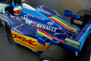 Benetton Renault B195 Winner French Gp 1995 M. Schumacher 1/18 Minichamps