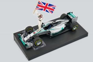 Winner Abu Dhabi W.C. 2014 Mercedes Amg Petronas F1 Team L. Hamilton 1/18 Minichamps