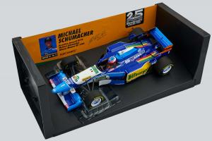 Benetton Renault B195 M. Schumacher Winner Monaco GP 1995 1/18 Minichamps