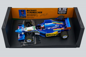 Benetton Renault B195 M. Schumacher Winner Monaco GP 1995 1/18 Minichamps