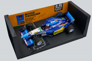 Benetton Renault B195 M. Schumacher Winner Gp Pacific World Champion 1995 1/18 Minichamps