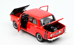 Simca 1000 Rallye 2 1971 Sarde Red 1/18 Norev
