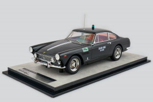Ferrari 250 Gte 2+2 Series 1964 Polizia Squadra Mobile Spatafora Black Panther 1/18 Tecnomodel