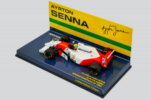 McLaren Ford Mp4/8 Ayrton Senna Winner European Gp 1993 1/43 Minichamps