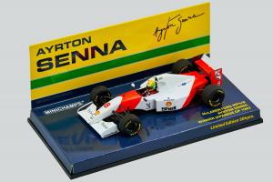 Mclaren Ford mp4/8 Ayrton Senna Winner Japanese Gp 1/43 Minichamps
