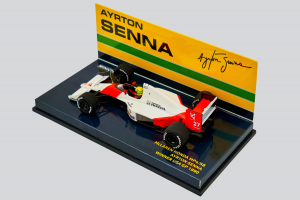 McLaren Honda MP4/5B Ayrton Senna Winner USa GP 1990 1/43 Minichamps