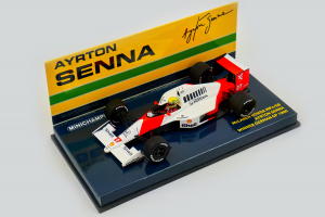 McLaren Honda MP4/5B Ayrton Senna Winner German GP 1990 1/43 Minichamps