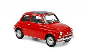 Fiat 500L 1968 Corallo Red 1/18 Norev