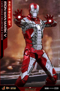 *PREORDER* Iron Man 2 - Masterpiece Series Action Figure: MARK V by Hot Toys