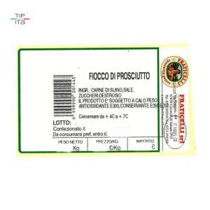 Fiocco di Prosciutto (Culatello) - 1/1,75Kg