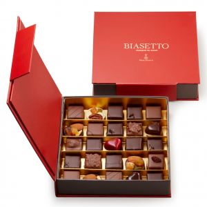 Scatola di cioccolatini assortiti 25 pz