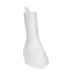 Il Laccio Tronchetto B31 pelle bianca-3