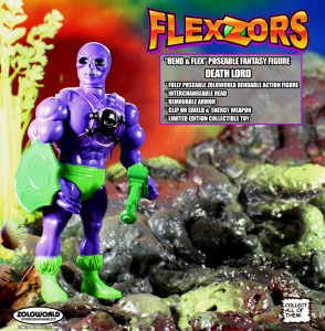 *PREORDER* FLEXZORS Bendable figures: DEATH LORD The Ruler Of The Games by Zoloworld