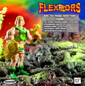 *PREORDER* FLEXZORS Bendable figures: FLEXZOR Champion Of The Games by Zoloworld