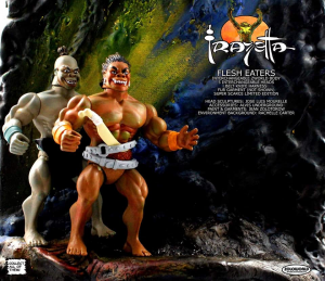 FRAZETTA series: FLESH EATERS Subhuman Cannibal by Zoloworld
