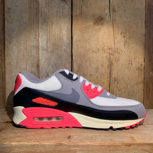 Scarpa Nike Air Max 90 OG Sail/ Cool Grey / Infrared