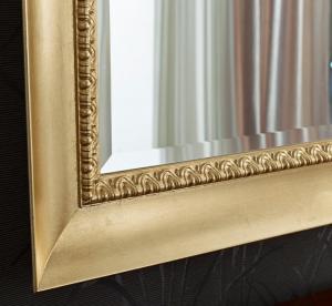 Specchiera foglia oro 'fresco classico'
