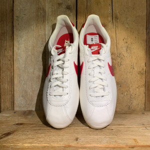 Scarpa Nike Classic Cortez Leather Sail /Gym Red