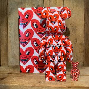Be@rbrick Medicom Keith Haring #6 100% e 400%