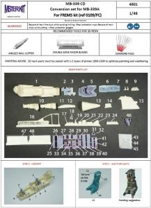MB-339 CD Conversion SET  (for Frems kit)