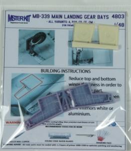 MB-339A Main landing gear bays